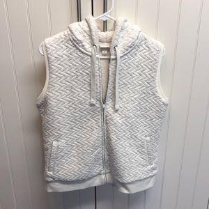 NWOT Hooded Vest